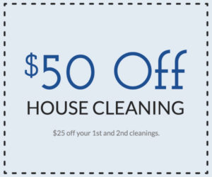 $50 off house cleaning offer