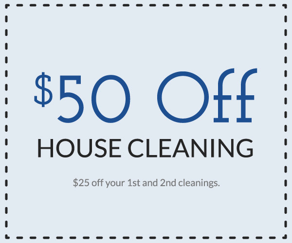 $50 off house cleaning